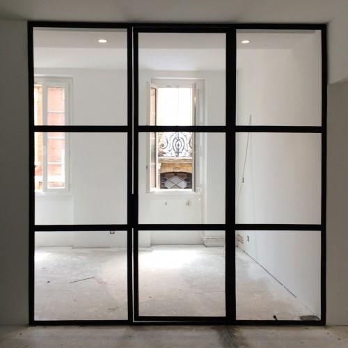 Paroie vitrée
